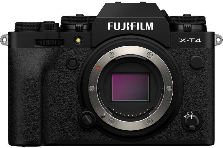 Fujifilm X-T4 Black (Kit Box) (Body Only)