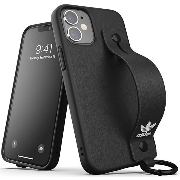 Adidas Handstrap Case for iPhone 12 Mini Black