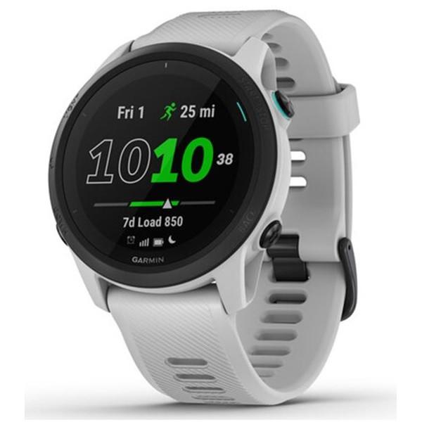Garmin Forerunner 745 GPS Running Watch Whitestone