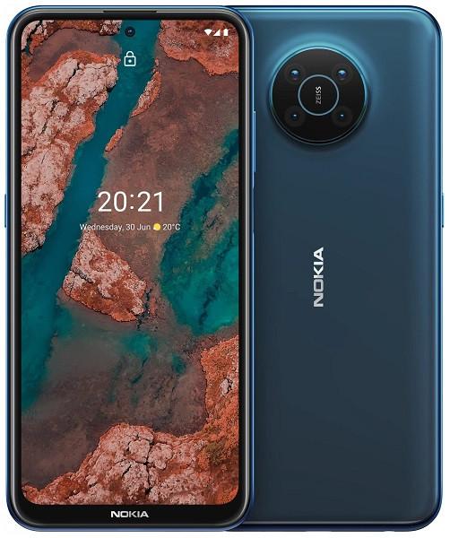 Nokia X20 5G Dual Sim TA-1341 128GB Blue (8GB RAM)