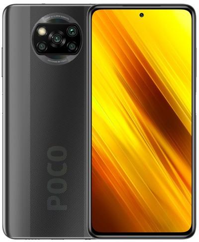 Xiaomi Pocophone X3 NFC Dual Sim 64GB Grey (6GB RAM) - Global Version + FREE Mi True Wireless Earphones White